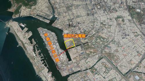 2006年,通往中島加工出口區的161KV電纜輸電線路竣工,這條長達1.25公里的海底電纜線路通道,是採用「潛盾工法」興建而成。