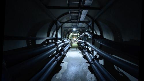 南部火力電廠通往中島加工出口區的海底電纜線路通道