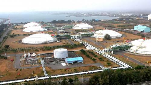 南部火力電廠天燃氣來源於永安液化天燃氣接收站