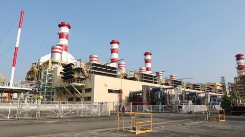 南部火力電廠廠區一隅