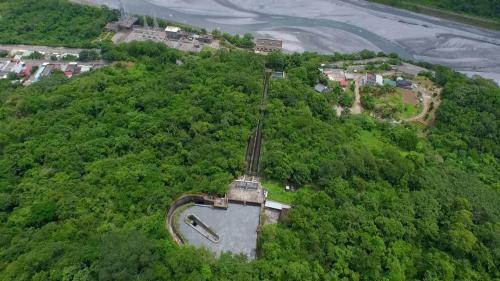立霧溪流域立霧電廠前池
