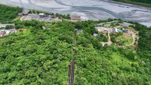 立霧溪流域立霧電廠壓力鋼管