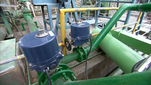 立霧溪流域立霧電廠微水力機組之部份機件