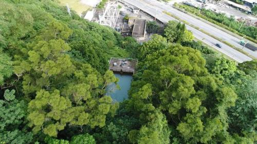 壽豐溪流域溪口電廠前池