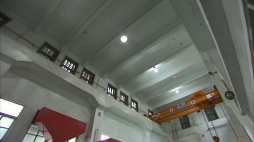 壽豐溪流域溪口電廠廠房起重機