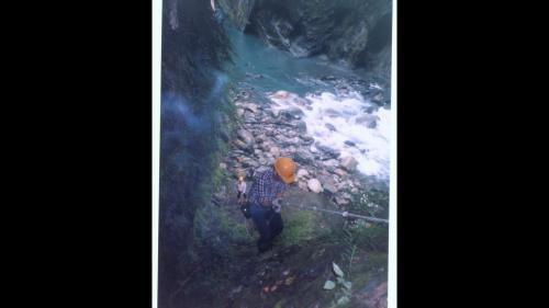 和平溪流域碧海電廠建廠前的探勘