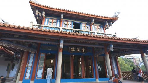 安平港:台南赤崁樓
