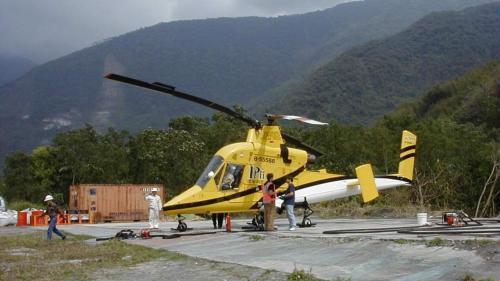 碧海水力計畫是國內第一個引進「直升機工法」的工程,為工程界與航空界的重型吊掛合作首開先河,也被喻為土木傑作。