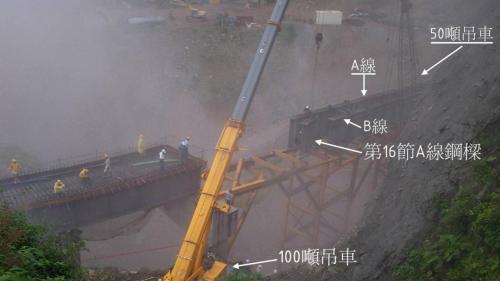 和平溪流域碧海電廠直升機吊掛工程施工