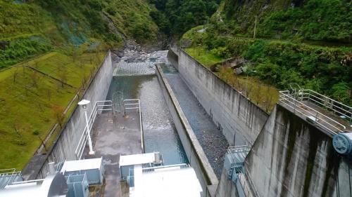 和平溪流域南溪壩