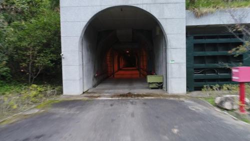 和平溪流域碧海電廠廠房入口