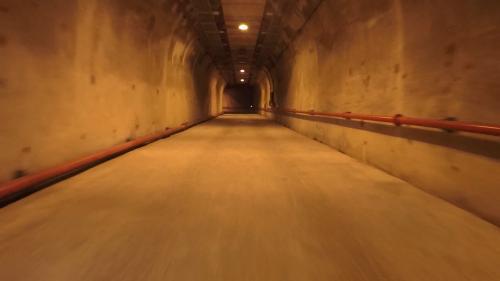 和平溪流域碧海電廠廠房入口隧道