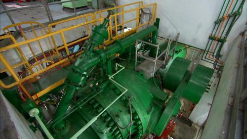 和平溪流域碧海電廠壓力鋼管及主閥