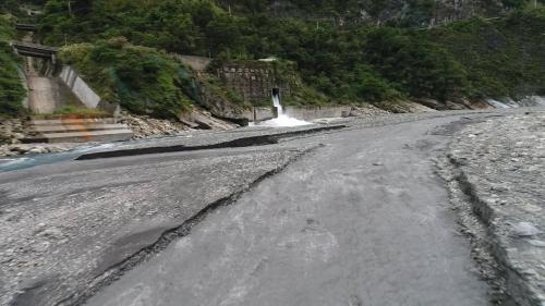 和平溪流域碧海電廠尾水出口