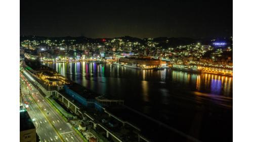 基隆港夜景