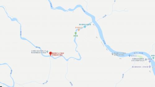 清水電廠地理位置圖