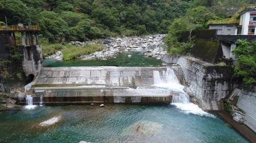 木瓜溪流域清二壩