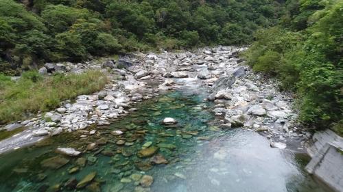 木瓜溪流域清二壩上游