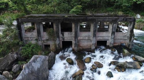 木瓜溪流域清水第二發電所舊址