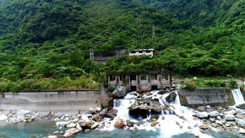 木瓜溪流域清流電廠與廢棄的清水第二發電所