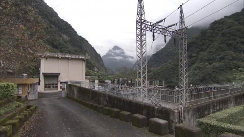 木瓜溪流域清流電廠