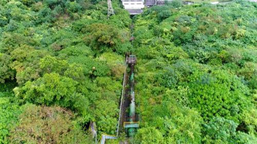 木瓜溪流域清流電廠壓力鋼管