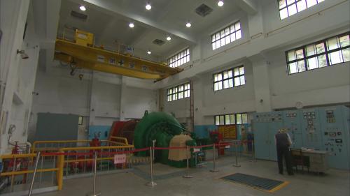 木瓜溪流域清流電廠橫軸法蘭西斯式水輪發電機組