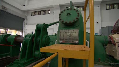 清流電廠橫軸法蘭西斯式水輪發電機