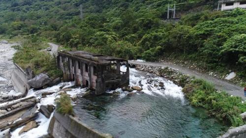 清流電廠尾水出口及清水第二發電所遺跡
