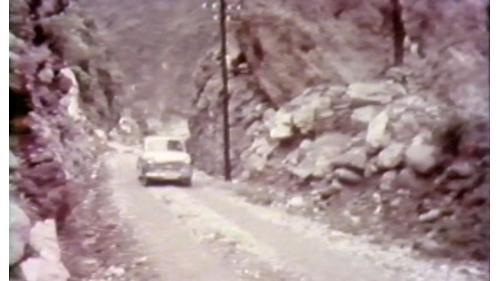 民國50年往龍澗道路貫通