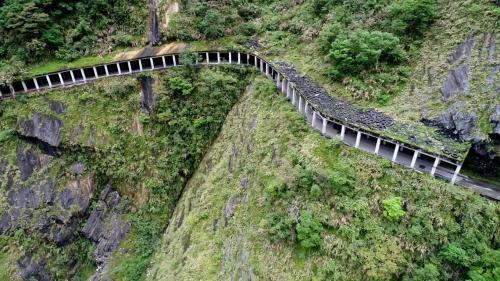 木瓜溪流域龍澗電廠前明隧道