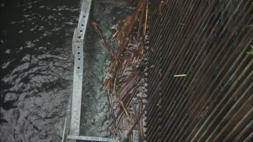 木瓜溪流域龍澗電廠取水口