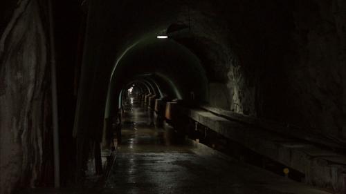 木瓜溪流域通往龍澗電廠的地下隧道