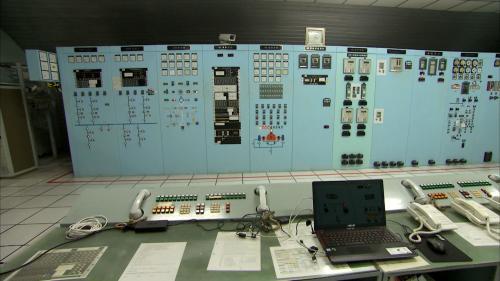 木瓜溪流域龍澗電廠控制室