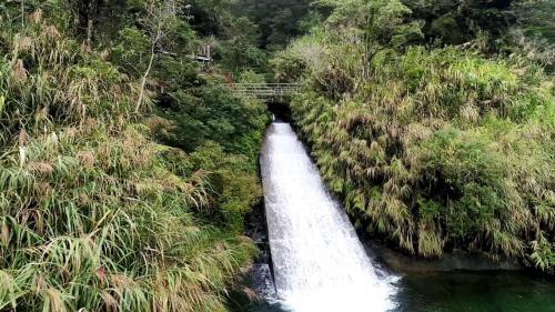 木瓜溪流域龍溪電廠入口下方水域