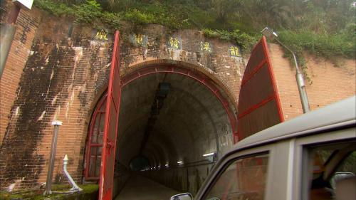 木瓜溪流域龍溪電廠入口