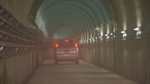 木瓜溪流域龍溪電廠入口隧道