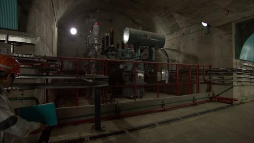 木瓜溪流域龍溪電廠內部