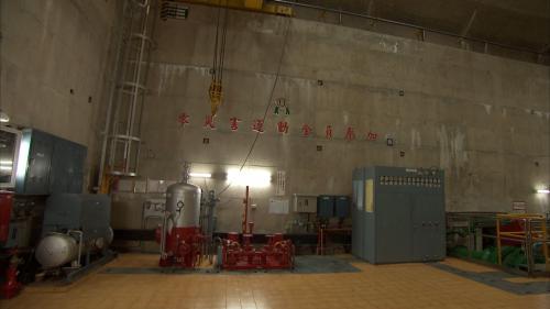 木瓜溪流域龍溪電廠機組壓油設備
