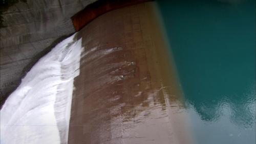 木瓜溪流域木瓜壩溢洪道