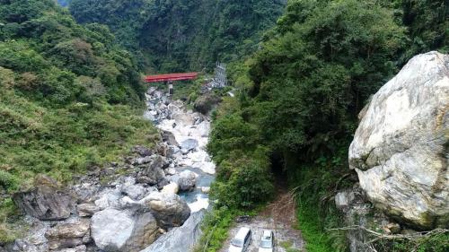 木瓜溪流域龍鳳壩下方