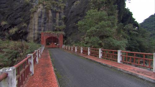 木瓜溪流域水簾電廠入口