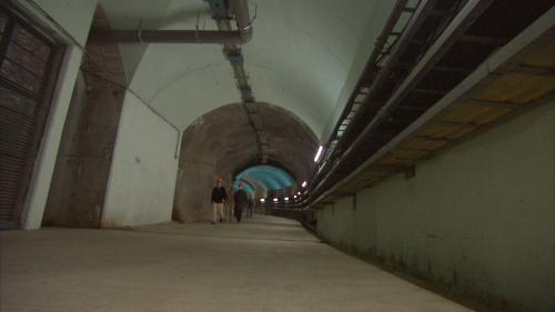 木瓜溪流域水簾電廠內部通道