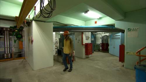 木瓜溪流域水簾電廠內部