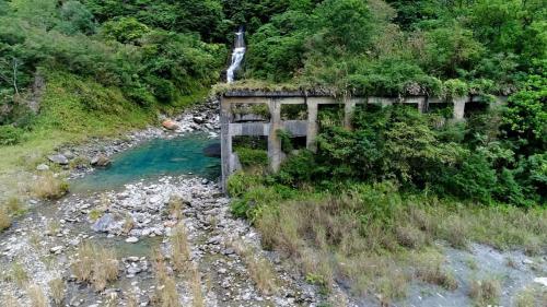 木瓜溪流域日治時期銅門電廠遺跡
