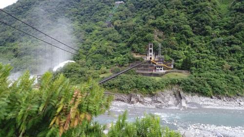 木瓜溪流域銅門電廠入口