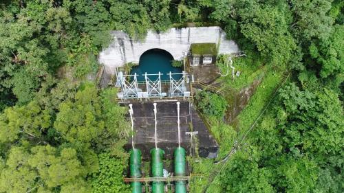 木瓜溪流域銅門電廠前池
