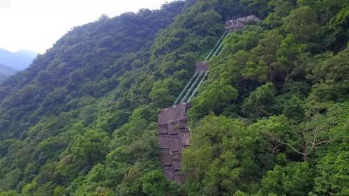木瓜溪流域銅門電廠壓力鋼管