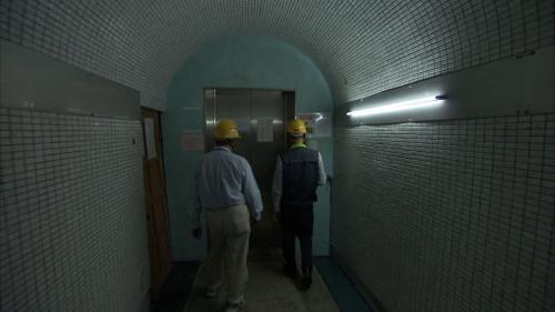 木瓜溪流域銅門電廠內部通道