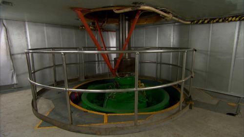 木瓜溪流域銅門電廠發電機組